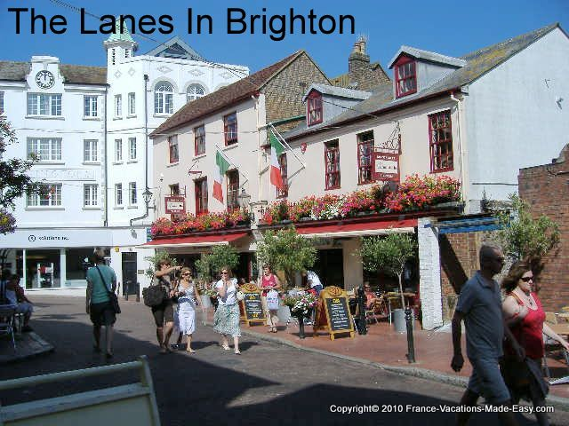 The Lanes in Brighton